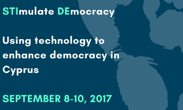 REGISTER FOR '' STIMULATE DEMOCRACY: USING TECHNOLOGY TO ENHANCE DEMOCRACY IN CYPRUS  (STIDE)