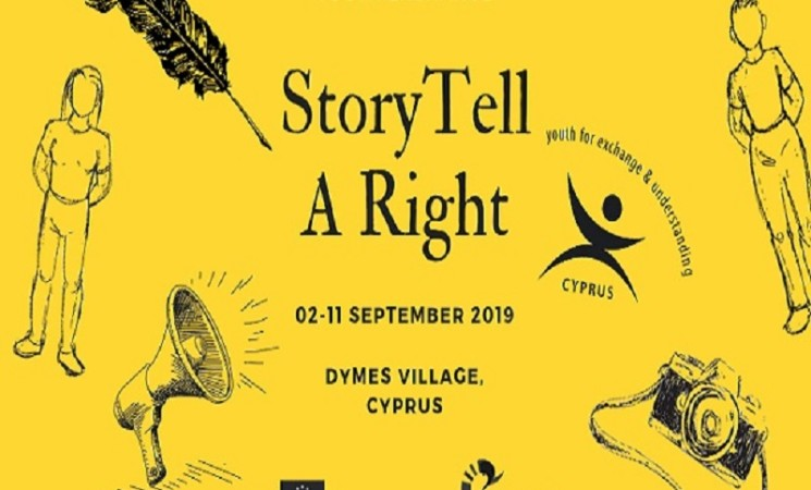 STAR: StoryTell A Right Y/E in Dymes, Cyprus | 2-11 September