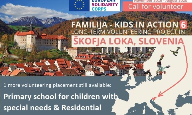 ESC Volunteering Project in Škofja Loka, Slovenia: Familija - Kids in action 6