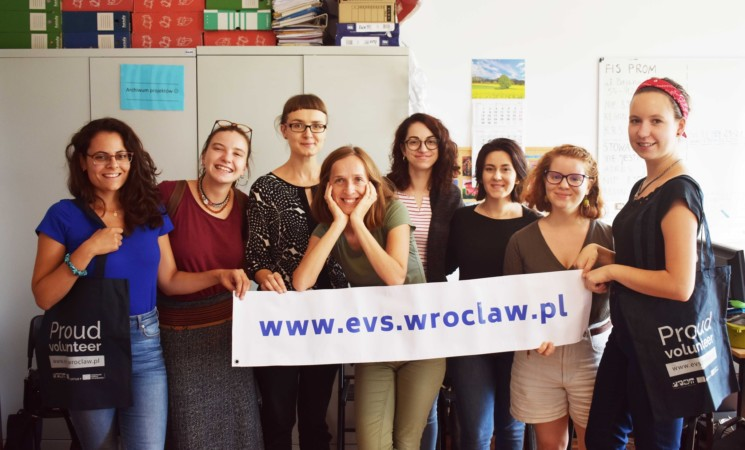 """Proud volunteers for solidarity"" - An ESC project in Poland"