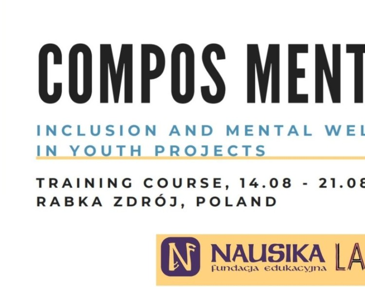 """Open call for """"COMPOS MENTIS - Inclusion and mental health well-being in youth projects"""" 