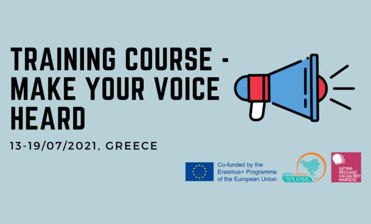 """Open call for """"Make your voice HeaRD"""" 