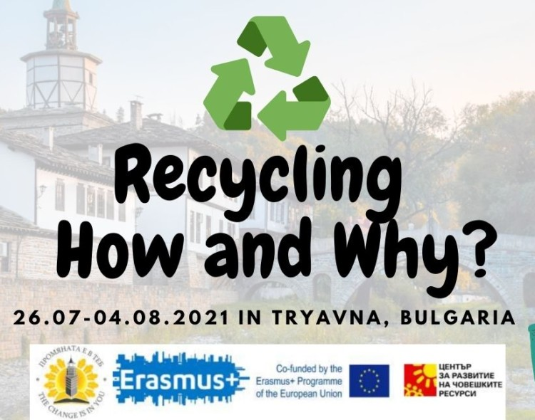 """Open call for """"Recycling - how and why"""" 