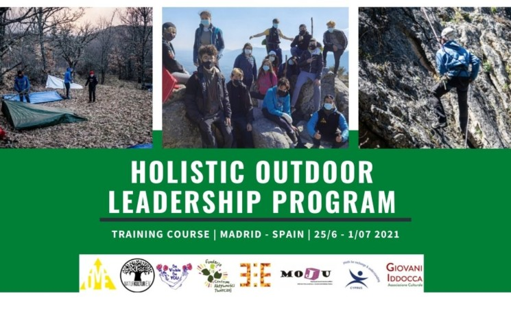 """Open call for """"Holistic outdoor leadership program""""   Training course in Spain - Madrid   25/6 - 1/07 2021"""