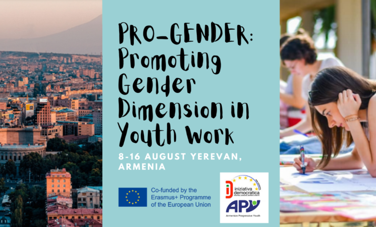 """Open call for """"PRO-GENDER: Promoting Gender Dimension in Youth Work"""" 