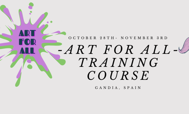 Art for All | TRAINING COURSE | Spain 2021