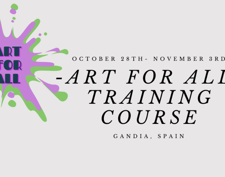 Art for All   TRAINING COURSE   Spain 2021
